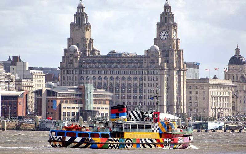 Beatles Walk + Mersey ferry